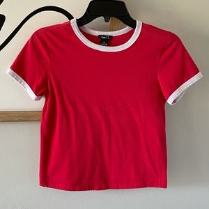 Rue 21 Red Crop Top Size XS